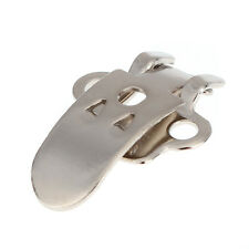 20X Blank Stainless Steel Flower Shoes Clips On Finding Decoration Craft Buckles