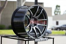 19x8.5 19x9.5 Inch +30/35 ESR Sr08 5x120 H. Black Wheels Rims E46 E90 E92 M3 M5