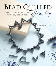 Bead Quilled Jewelry: New Beadwork Designs with Square Stitch-ExLibrary