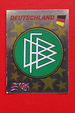 Panini EURO 96 N. 195 DEUTSCHLAND BADGE New With BLACK back VERY GOOD/MINT!!
