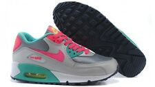 2015 WMNS Nike Air Max 90 2007 GS SZ 5 Grey Pink Volt Teal 3.5Y 345017-065