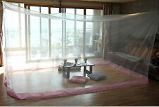 Treated Mosquito Net Bedroom Insect Canopy Camping Netting  7-8person Large