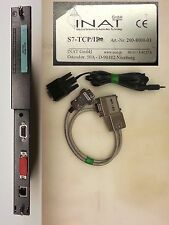 SIEMENS Simatic S7-400 INAT S7-TCP/IP ethernet module cod. 200-8000-01