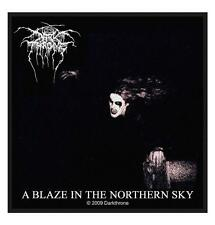 OFFICIAL LICENSED - DARKTHRONE - A BLAZE IN THE NORTHERN SKY SEW ON PATCH METAL