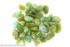 Green Beryl Tumbled Stone 15mm QTY1 Healing Crystal Reiki Water Sailors Heart