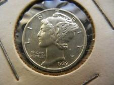 1939 Mercury Dime. Lot 16