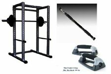 Power Squat Rack With 500 Kgs Weight Capacity+Pull Up Bar+Dips Stand (31118)