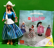 BARBIE MATTEL MC DONALD'S HAPPY MEAL 1997 RARA