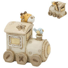 Baby Christening Gifts Boys or Girls Noah's Ark Money Box Train Moneybox Bank