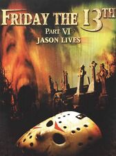 Friday the 13th - Part 6: Jason Lives (DVD, 2001) - New