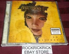 AND YOU WILL KNOW US BY THE TRAIL OF THE DEAD - SO DIVIDED -12 TRACK CD-