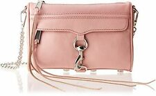REBECCA MINKOFF $195 PRIMROSE PINK LEATHER MINI MAC CROSSBODY HANDBAG BAG