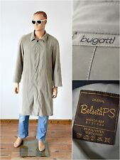 vintage BUGATTI TRENCH COAT mac mens size 24 to fit Large / with lining Belseta