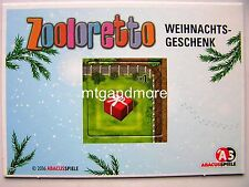 Brettspiel Adventskalender - 8 - Zooloretto - Frosted Games 2016