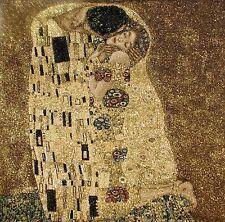 """NEW 22"""" 55CM GUSTAV KLIMT LE BAISER THE KISS FULLY LINED TAPESTRY CUSHION COVER"""