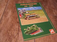 Catalogue  / Brochure AMAZONE D9 - AD3 2004 //