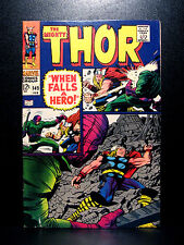 COMICS: Marvel: Thor #149 (1968), 2nd Wrecker app/Medusa's origin - RARE (loki)