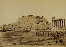 The Temple of Olympian ZEUS and the Acropolis GRECIA ANTICA PHOTO M 043