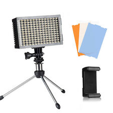 Pergear A168 168pcs LEDS video light on camera light air switch for photography