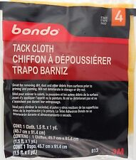 "3M BONDO 813 TACK CLOTH 18""x36"" (45.7cm x 91.4 cm) 1 CLOTH/Pk"
