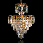 New Elegant wy01 Crystal Chandelier Modern Ceiling Light Pendant Fixture USA