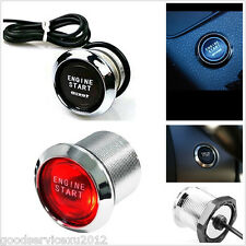 New DC12V Red LED Engine Start Push Button Switch Ignition Starter Kit For Honda