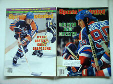 1982-84 Sports Illustrated Wayne Gretzky Hockey Edmonton Oilers Going Great Guns