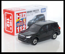 TOMICA #112 SUBARU FORESTER 1/65 TOMY DIECAST CAR BLACK First edition B
