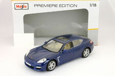 Porsche Panamera Turbo blau 1:18 Maisto