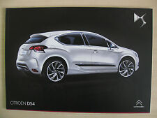 Citroen DS4 UK Sales Brochure  (December 2012)