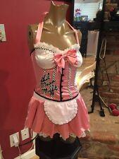 Sexy Little Miss Muffet Halloween Costume Women's Sz S Mystery House