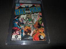 BATMAN 359 PGX (CGC) 9.4, 1st Killer Croc Cover, White Pages