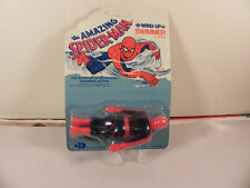 1979 SPIDER-MAN Wind Up Swimmer Figure Durham Marvel Vintage !