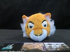 "Disney Store Authentic Jungle Book mini 3 1/2 "" tsum tsum plush Shere Khan"