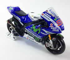JORGE LORENZO FACTORY YAMAHA YZR-M1 MOTO GP Die-Cast Toy Model Bike Maisto 1:18