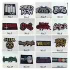 Rock Band Sew Iron On Patch Heavy Metal Punk Thrash Logo Embroidered Jacket New