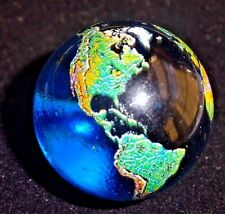 Earth Glass Crystal globe sphere