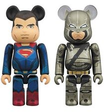 Medicom be@rbrick 2016 DC Comics Superman v Armored Batman bearbrick boxset 2pcs