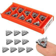10x 16ER AG60 VP15TF Carbide Inserts Set Threading Inserts CNC Blades Lathe Tool