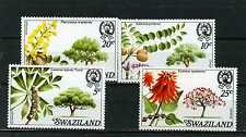 SWAZILAND 1978 Sc#294-297 FLOWERING TREES SET OF 4 STAMPS MNH