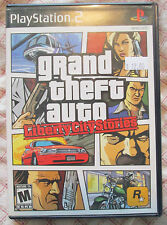 Play Station 2 PS2 Grand Theft Auto Liberty City Stories (Manual, box and game)