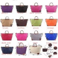 Lightweight Synthetic Leather WaterProof Handbag Handle Trave Tote Shopping Bag