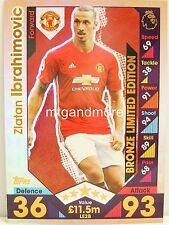 Match Attax 2016/17 Premier League - LE2B Zlatan Ibrahimovic - Limited Edition