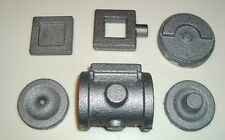 LIVE STEAM MODEL ENGINE CYLINDER SET & CRANK DISC CASTINGS