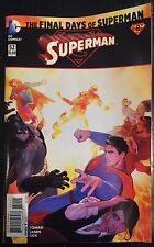 Superman #52 Death of New 52 Superman FN/VF 1st Print Free UK P&P DC Comics
