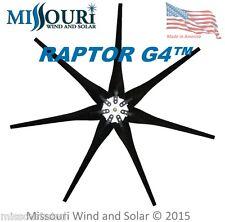 Wind turbine blades 7 Raptor Series™ BLACK Blades with Hub for Wind Turbine USA