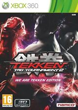 Coffret collector TEKKEN TAG TOURNAMENT 2 pour xbox 360 en francais NEUF / NEW