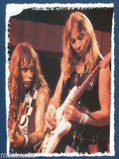 an/ handmade greetings / birthday card IRON MAIDEN , DAVE MURRAY