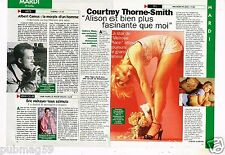 Coupure de presse  Clipping 1997 (1 page 1/3) Courtney Thorne-Smith