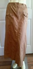 CATO WOMEN'S SIZE 10 KHAKI SKIRT LONG MODEST